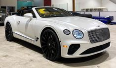 Bentley Continental Gt Convertible, Rich Cars, New Bentley, Latest Cars, Rolls Royce, Hot Cars, Car Show, Pearl White, Luxury Cars