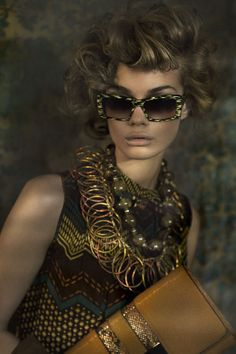 Earth Goddess Jennifer Bianchi By Daniela Rettore for Bambi Magazine #12 2012 Repinned by Fashion Net