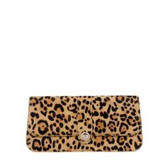 Ted Baker OLOSA - Leather clutch ($110) ❤ liked on Polyvore featuring bags, handbags, clutches, accessories, purses, bolsas, light brown, metallic leather handbags, metallic clutches and brown purse