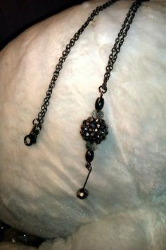 "20"" Black Chain Necklace. Starting at $5 on Tophatter.com!"