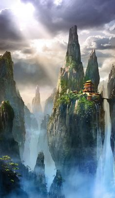 This could be one of my cities,where you can find ninja dragons and ying yang dragons,and find trolls rarely. -Ruby
