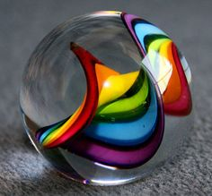 Rainbow marble...
