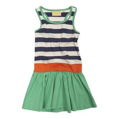 toddler summer dress. I could so easily make this from a top and some extra fabric