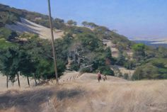 Afternoon Ride by Tom Hughes Paintings