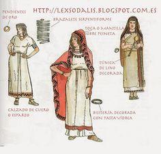 Resultado de imagen de ropa ibero