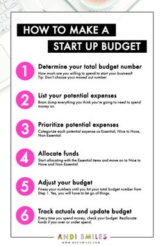 How to Make a Startup Budget for Your New Business - Finance tips, saving money, budgeting planner Making A Business Plan, Small Business Start Up, Writing A Business Plan, Business Plan Template, Business Advice, Small Business Marketing, Starting A Business, Business Money, Creating A Business