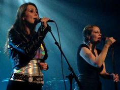 "Anneke van Giersbergen / Agua de Annique ft. Sharon den Adel - ""Somewhere"""