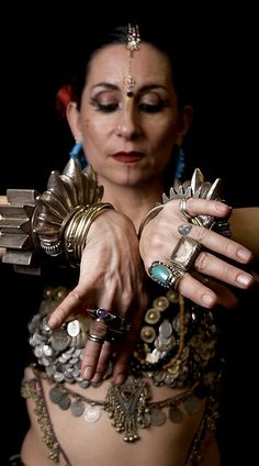 Carolena Nericcio, creator  of American Tribal Style (ATS) and Artistic Director of Fat Chance Bellydance