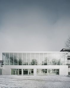 The Forum at Eckenberg Gymnasium | iGNANT.de Two-story facade