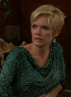"Love the print on this dress worn by Maura West as Diane Jenkins on ""The Young and the Restless"" - from the Young and the Stylish blog."