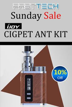 Fasttech is offering 10% discount on Cigpet ant Kit.deal is currently activate on the site. For more #FastTech #Coupon #Codes visit:  http://www.couponcutcode.com/stores/fasttech_coupon_codes/