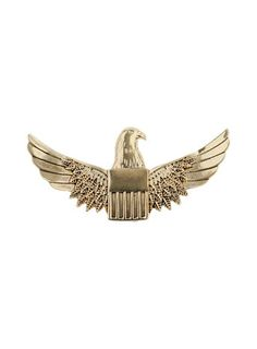Metal Eagle Brooch