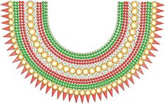 Salwar Neck Designs, Blouse Designs, Embroidery Neck Designs, Embroidery Patterns, Gala Design, Folder Design, Beaded Necklace, Suit Men, Textiles