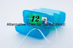 Dental Floss: 12 New Ways to Repurpose an Old Standard