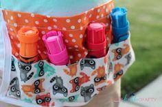 DIY Chalk Apron | Ann Kelle Fabrics - Shes {kinda} Crafty
