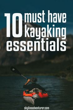 Heading out on the water for some kayaking? Make sure you have these 10 kayaking essentials we've included in our ultimate kayaking gear list! Canoe Camping, Canoe And Kayak, Kayak Fishing, Saltwater Fishing, Fishing Tips, Kayak Wheels, Kayaking Tips, Kayaking Outfit, Kayak Pictures