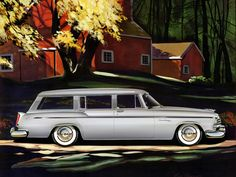Plan59 :: Woodies :: 1950s Station Wagons :: 1955 Chrysler Windsor Deluxe Town & Country