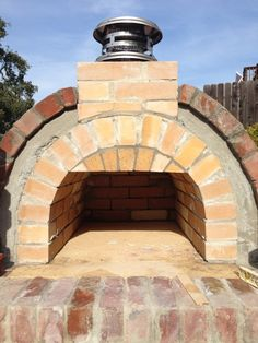 Lyford Wood Fired Brick Pizza Oven in California - BrickWood Ovens Pizza Oven Kits, Diy Pizza Oven, Pizza Ovens, Wood Fired Oven, Wood Fired Pizza, Four A Pizza, Cooking Stove, Rocket Stoves, Amai
