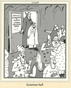 """The Far Side"" by Gary Larson. Far Side Cartoons, Far Side Comics, Funny Cartoons, Funny Comics, Funny Jokes, Funny Laugh, The Far Side Gallery, Laugh Cartoon, Cartoon Art"