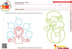 Cuadernillo 1 Lógico matemática inicial 3 años Family Guy, Education, Comics, Kids, 3 Year Olds, Games, Activities, Activities For 3 Year Olds, Infant Activities