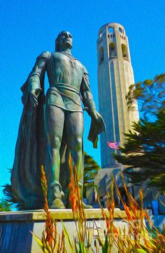 San Francisco - Coit Tower - 02 Painting