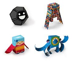 Free Paper Toys! Boring summer already? Make these!