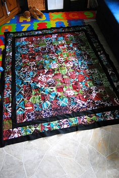 my african fabrics quilt