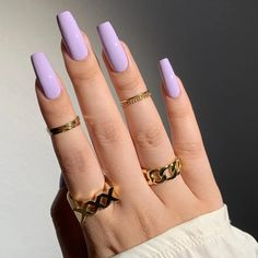 Purple Nail Designs, Cute Nail Designs, Acrylic Nail Designs, Nail Polish Designs, Purple Nails, Bling Nails, Cute Acrylic Nails, Gel Nails, Fall Nail Trends