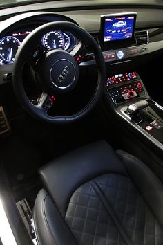 lemme-holla-at-you: Audi S8 interiorby classy-captain x