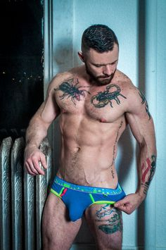 Sergeant Miles is my dream man.  A little beard, some muscles and a whole lotta nasty in bed.  If you don't know who he is, you owe it to yourself to watch at least one scene.  You won't regret it!