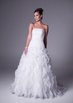 Discount Price of A-line Strapless Chapel Train Organza Fabric Ireland Wedding Dresses 2015 With Appliques Beading Style Ireland Online Shopping Cheap Wedding Dresses Online, 2015 Wedding Dresses, Wedding Gowns, Ireland Wedding, Lace Bride, Online Dress Shopping, One Shoulder Wedding Dress, Beaded Lace, Bridal