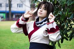 Photosession with Yuu #cosplay
