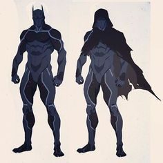 Cleaning up my desktop I found this unused sketch of Heretic from Batman: Bad Blood. I was going for the look of a Bat suit with the top layer peeled off to make it look like a human body without skin, exposing muscles and tendons. I still like the concep Comic Book Characters, Comic Character, Comic Books Art, Fantasy Characters, Character Concept, Comic Art, Batman Suit, Im Batman, Heros Comics
