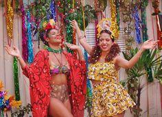 Makes para um carnaval bem colorido com inspiração tropical - Modices