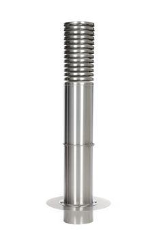 Edelstahl Ansaugturm AT255V2A, Höhe = 1500 mm, mit Flansch, Ansaugturm für Erdwärmetauscher | Ansaugtürme Edelstahl V2A | Ansaugtürme | Intelmann Onlineshop Pepper Grinder, Detail, Tension Ring, Pipes, Cleaning, Stainless Steel