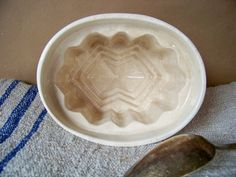 Ironstone Pudding Mold Mould by SundriesandSalvage on Etsy, $26.00
