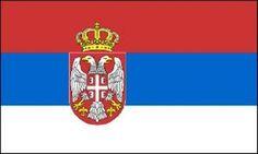 2x3 Serbia Flag Serbian Country Banner Balkan Republic Pennant 24x36 inches, Grey