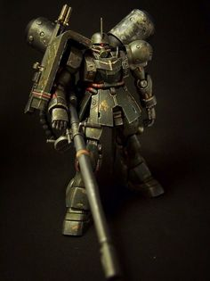 Custom Build: HGUC 1/144 Geara Zulu (Gilboa Sant use) - Gundam Kits Collection News and Reviews