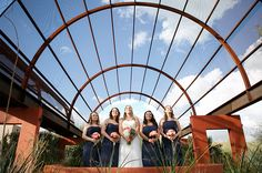 This wedding at the Desert Botanical Gardens shows some great spots for pictures.  The wedding photographer did some really awesome shots, too.