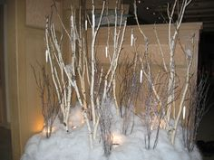 birch tree floral displays | ... , we have Christmas decor and Christmas tree rentals all year
