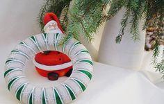 Kranz Schneeflöckchen - Grün von Mausepelzchen kreativ auf DaWanda.com