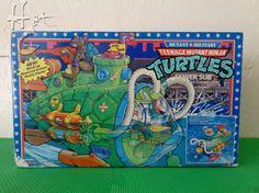 TMNT Sewer Sub Teenage Mutant Ninja Turtles Mutant Military SewerSub 1991 TR1813