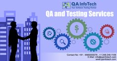 At QA InfoTech, we are delivering unmatched client experiences through innovative enactments in our engagements keeping in mind the urgency to launch products without sacrificing the quality. If you are looking for QA and Testing Services, just share your requirement at info@qainfotech.com or reach us at +91- 9560000079, +1 248-246-1109. Know more about our services: http://qainfotech.com/software-testing-services/