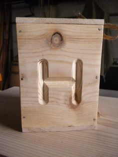 wooden box for honey
