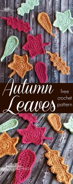 I made these three leaves for a fall garland. I made three of each leaf pattern in three different colors. I love the colorful addition they made to my garland! PATTERN Materials Worsted weight (4) yarn – I used I Love This Yarn in Cranberry, Mid Green and Terra Cotta 5.0 mm hook Yarn needle …