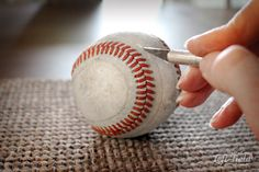 Baseball Bracelet - Life in Left Field Gifts For Baseball Players, Baseball Gifts, Baseball Bracelet, Yard Games, Unusual Jewelry, Patterns, Bracelets, Crafts, Life