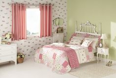 Decoupage Duvet Set by iliv - Rose Red - Single (UK) : Wallpaper Direct Single Duvet Cover, Wallpaper Direct, Pink Room, Girls Bedroom, Bedrooms, Bed Covers, Luxury Bedding, Bedding Sets
