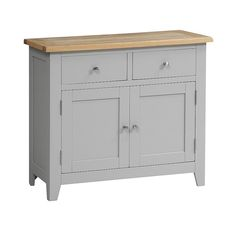 Chester Grey 2 Door Sideboard - The Cotswold Company Sideboard, Dining Room Furniture, Dining Room, Hand Crafted Furniture, Doors, Cabinet, Room Decor, Dining Room Decor, Furniture