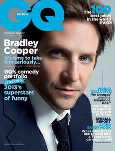 'Watching my father die changed everything': Hollywood heartthrob Bradley Cooper shows a softer side in intimate interview Bradley Cooper, Happiness Therapy, Gq Magazine Covers, Brigitte Lacombe, Gq Mens Style, Gq Style, Magazin Covers, Cover Boy, Interview