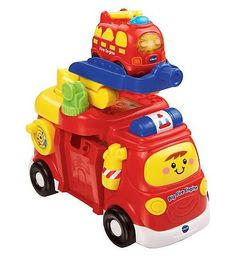 Vtech Toot-Toot Drivers Big Fire Engine 10169927 100 Advantage card points. The Toot-Toot Drivers Big Fire Engine features lots of manipulative elements to keep your little one entertained. Press the SmartPoints to trigger fun sounds and raise the l http://www.MightGet.com/april-2017-1/vtech-toot-toot-drivers-big-fire-engine-10169927.asp